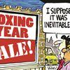 Today's cartoon: Boxing year
